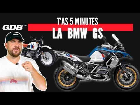 T'AS 5 MINUTES : LA BMW GS !!