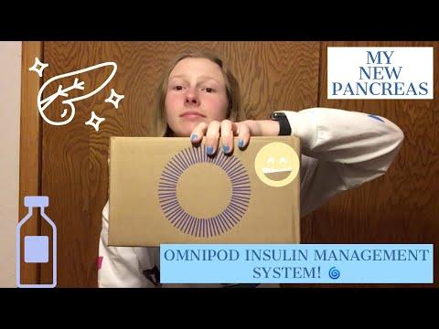 UNBOXING MY OMNIPOD INSULIN MANAGEMENT SYSTEM STARTER KIT