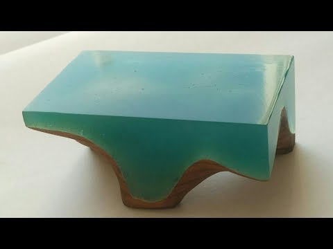 How to make Mini Stylish Resin Table | table design |Epoxy table | Table top