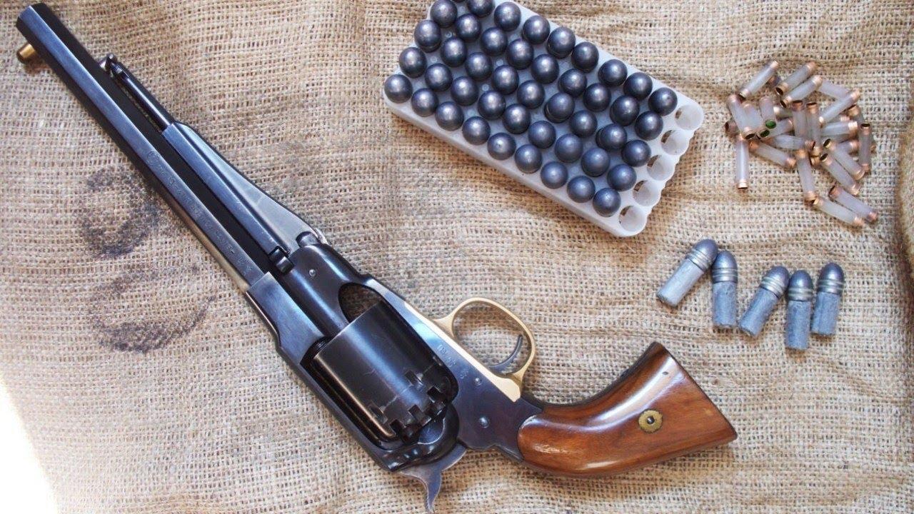 Old Glory Gunsmith Shoppe: Weapons of Choice: Remington Model 1858