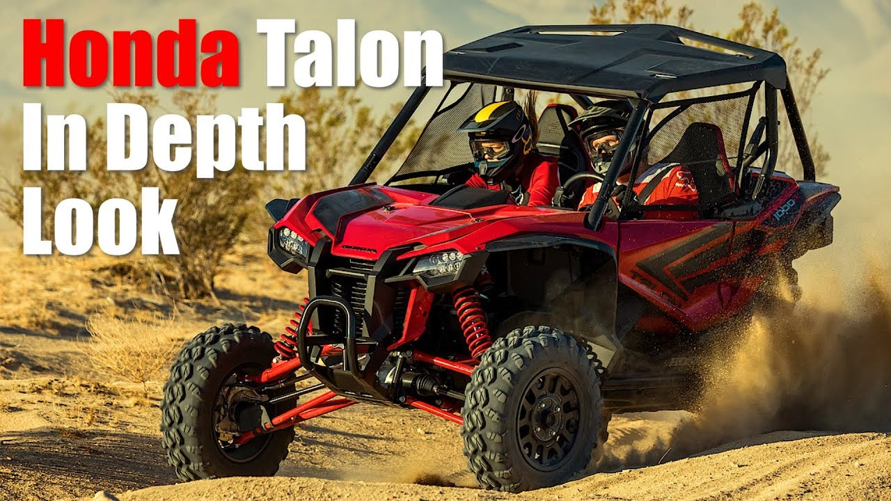 2019 Honda Talon 1000 In Depth First Look Review Youtube