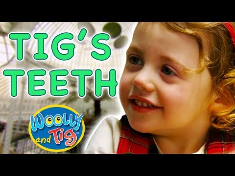 Woolly and Tig - Tig's Teeth | Kids TV Show | Full Episode | Toy Spider