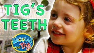 Woolly and Tig - Tig's Teeth   Kids TV Show   Full Episode   Toy Spider