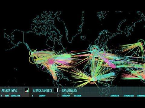 Siber Dünya Savaşı - Norse Attack Map (Canlı İzlemek)