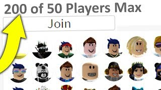 200+ PEOPLE IN ONE ROBLOX LOBBY!! (world record)