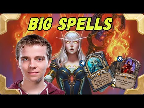 Thijs takes a legend with a BIG spells Mage (Kobolds and Catacombs)