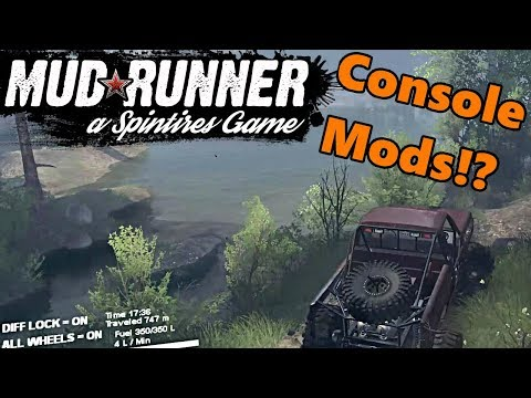 Spin Tires MudRunner  Will Mods Work on Xbox One and PS4? Heres How They Can!!