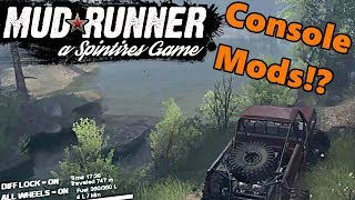 Spin Tires MudRunner | Will Mods Work on Xbox One and PS4? Here's How They Can!!