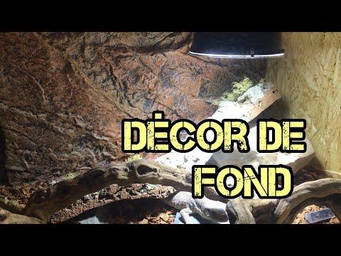 Decor De Fond Aquarium Pour Terrarium Video S Youtube Na Kompyuter
