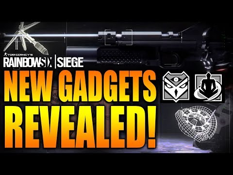 Rainbow Six Siege - In Depth: NEW GADGETS REVEALED - KALI - WAMAI