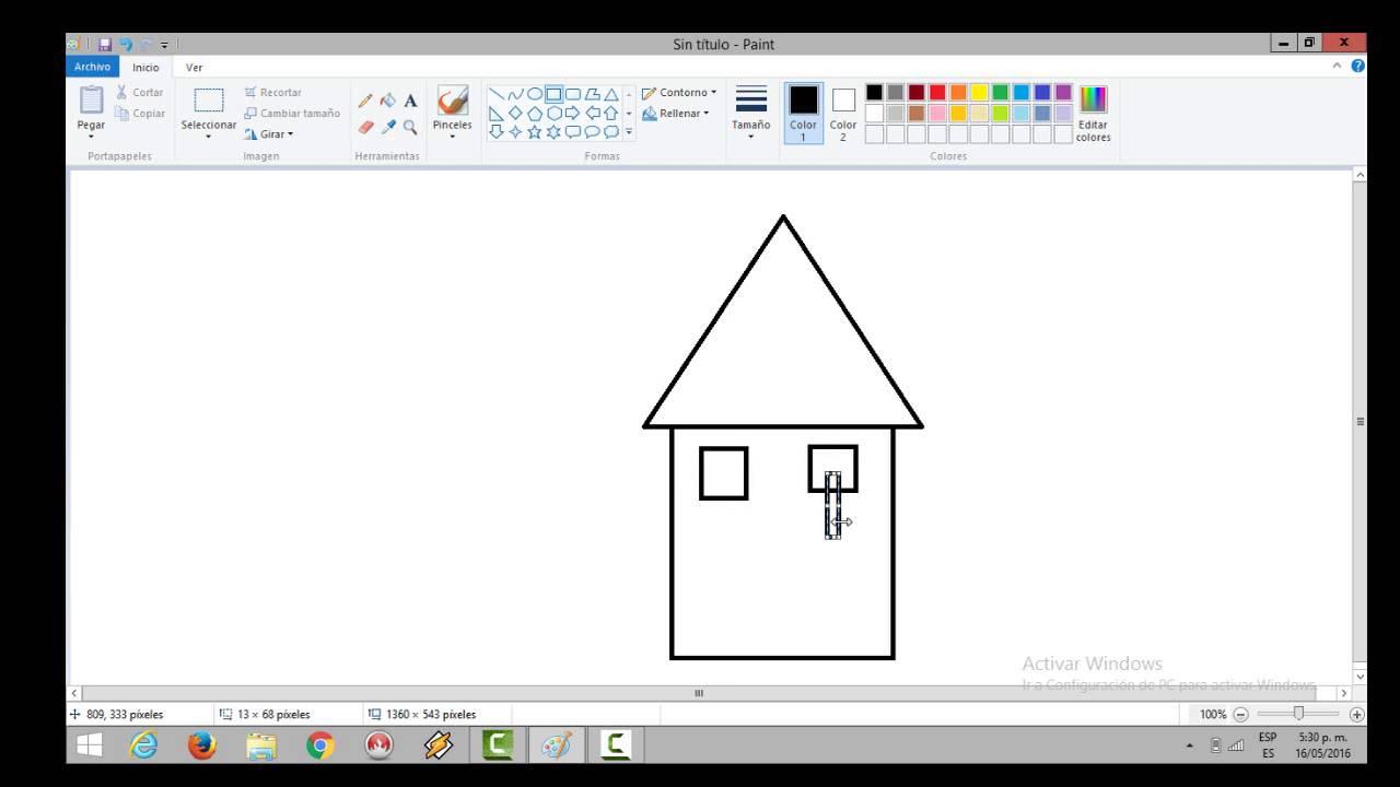 Como hacer casa con figuras geometricas youtube for Programa para crear habitaciones 3d