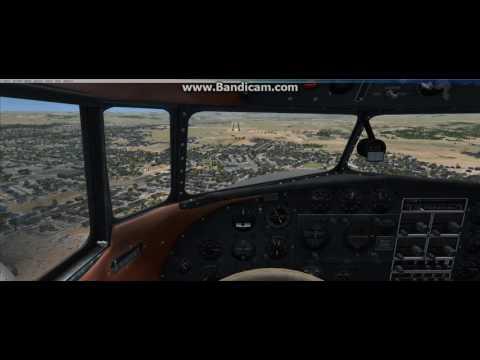 Just Flight Lockheed L10A Electra Landing Sherindan WY