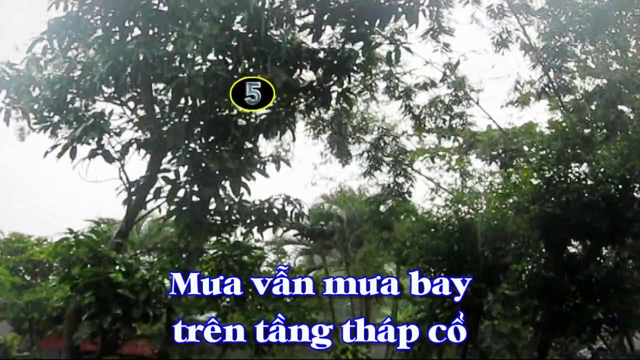 [Karaoke] DIỄM XƯA - Trịnh Công Sơn (Giọng Nữ)