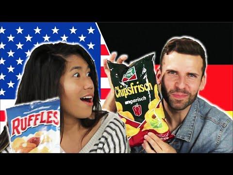 Americans & Germans Swap Snacks