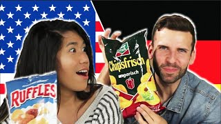 Americans & Germans Swap Snacks