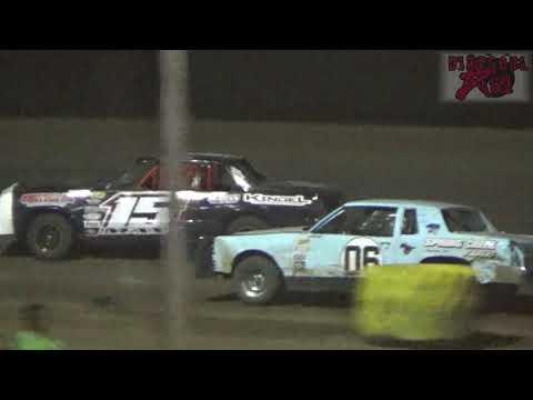 Salina Speedway - 5-11-18 - Busch Light Hobbystock A Feature