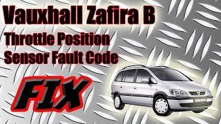 Воксхолл Вектра Б датчик положення дросельної заслінки код помилки виправити Опель Астра VXR на
