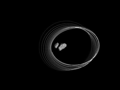Rosetta's last orbits around the comet