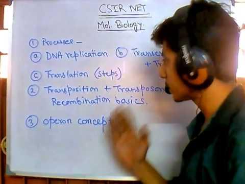 CSIR UGC NET suggestions - molecular biology