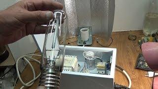 Подключение лампы ДНАТ SON-T