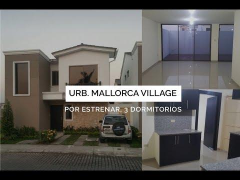Alquilo Casa  por Estrenar Urb. Mallorca Village