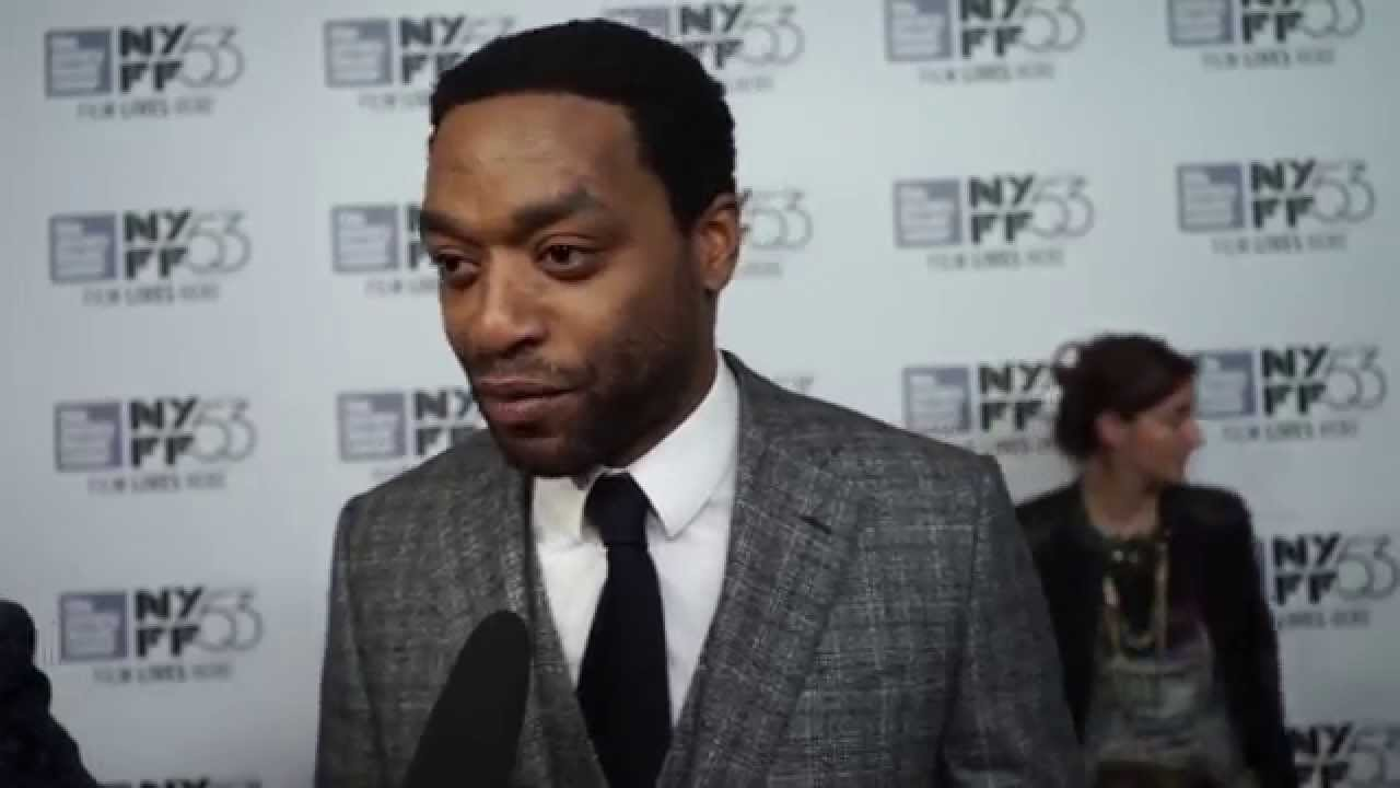 Chiwetel Ejiofor | 'The Martian' Red Carpet | NYFF53