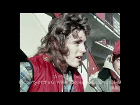 Fans Line Up To Buy Led Zeppelin Tickets in Fort Worth - WFAA January 1977