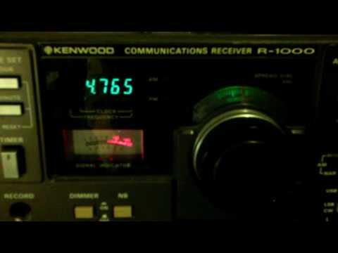 Tajik Radio 1? With interference