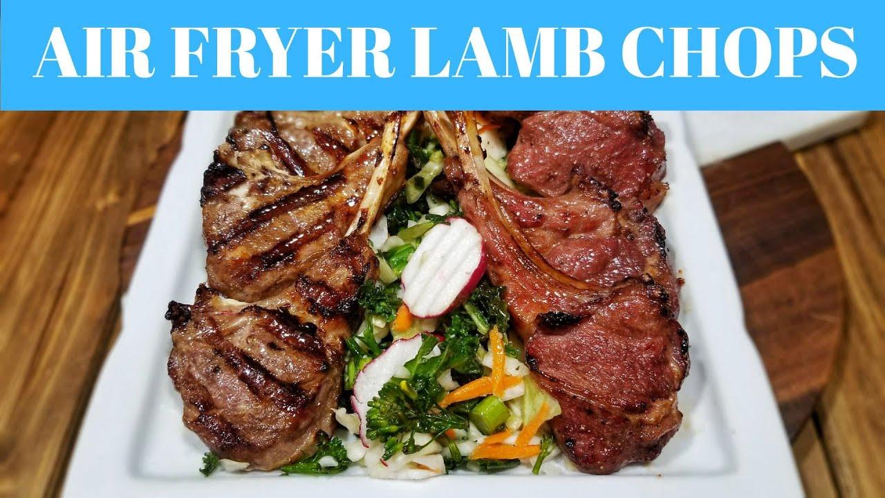 ninja foodi grill lamb chop recipe Air Fryer LAMB CHOPS recipe  Ninja Foodi Grill recipes