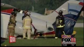 Jack Roush plane crash at the EAA