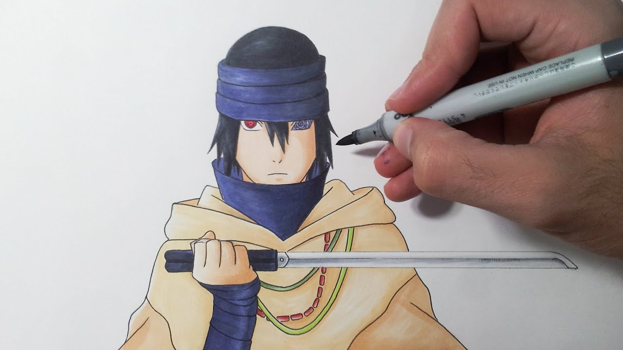 Naruto and Sasuke  drawing