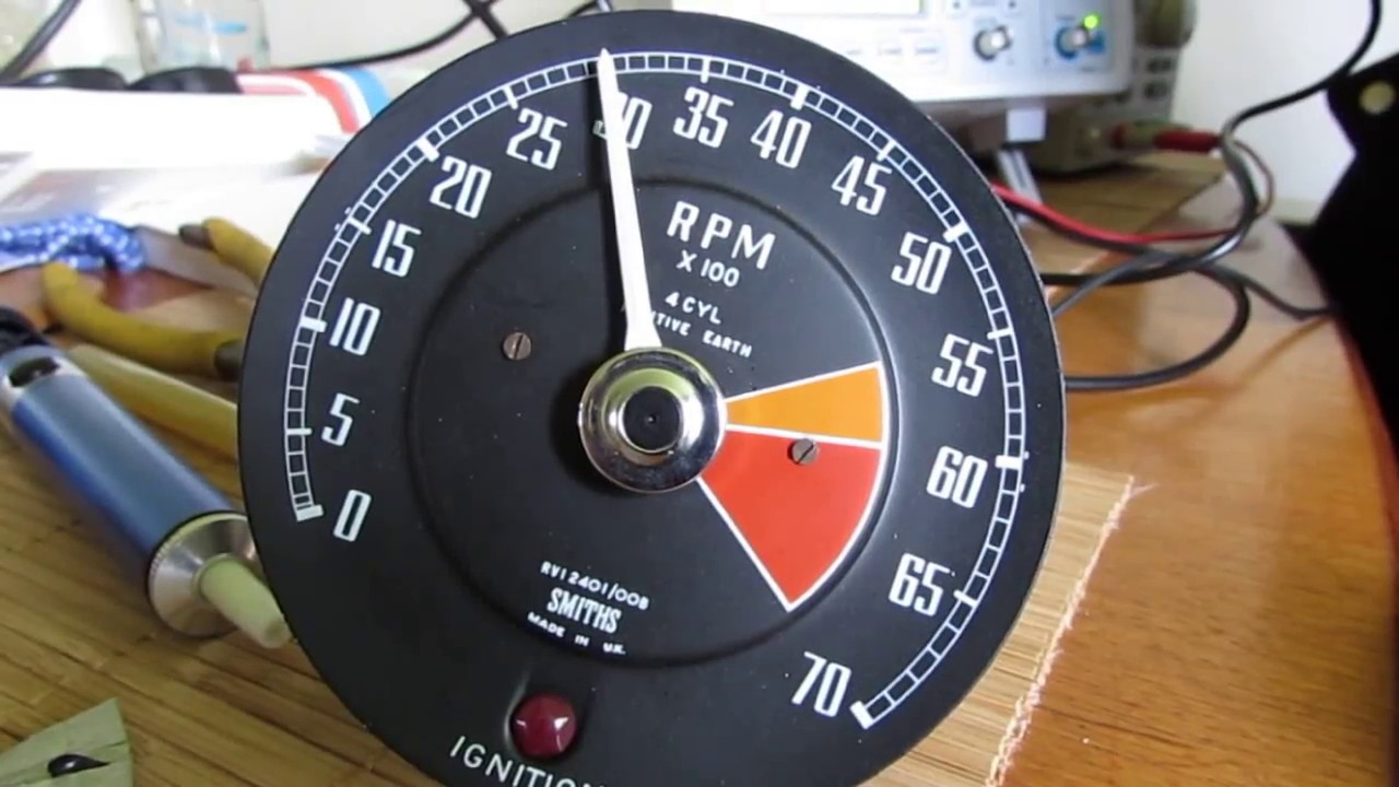 Smiths RVI Tachometer repair overview