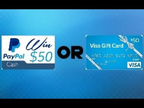 CLOSED) 50$ Visa Gift Card OR 50$ Paypal GIVEAWAY (Giveaway ...