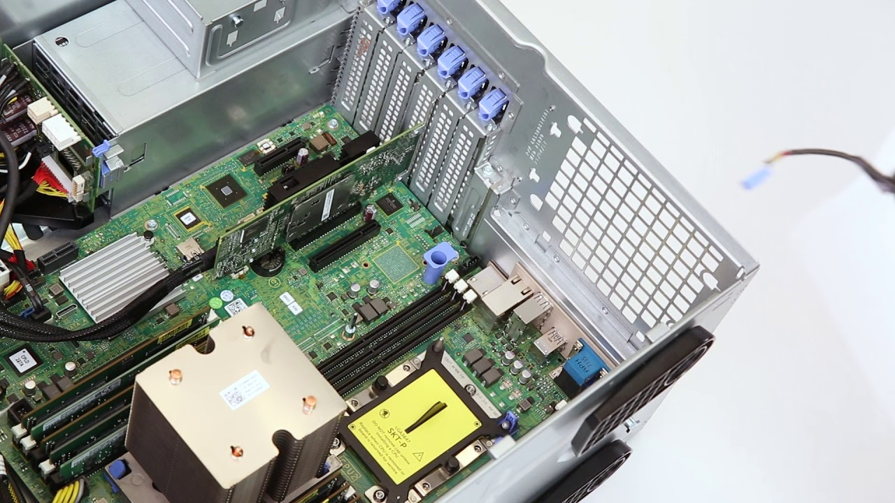 Dell EMC PowerEdge T440: Remove/Install Fan