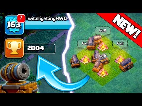 UNLOCKING NEW CANNON CARTS! ARE THEY ANY GOOD? + 2,000 TROPHIES REACHED IN CLASH OF CLANS!