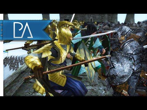 ELVES UNDER SIEGE - Third Age Total War Gameplay