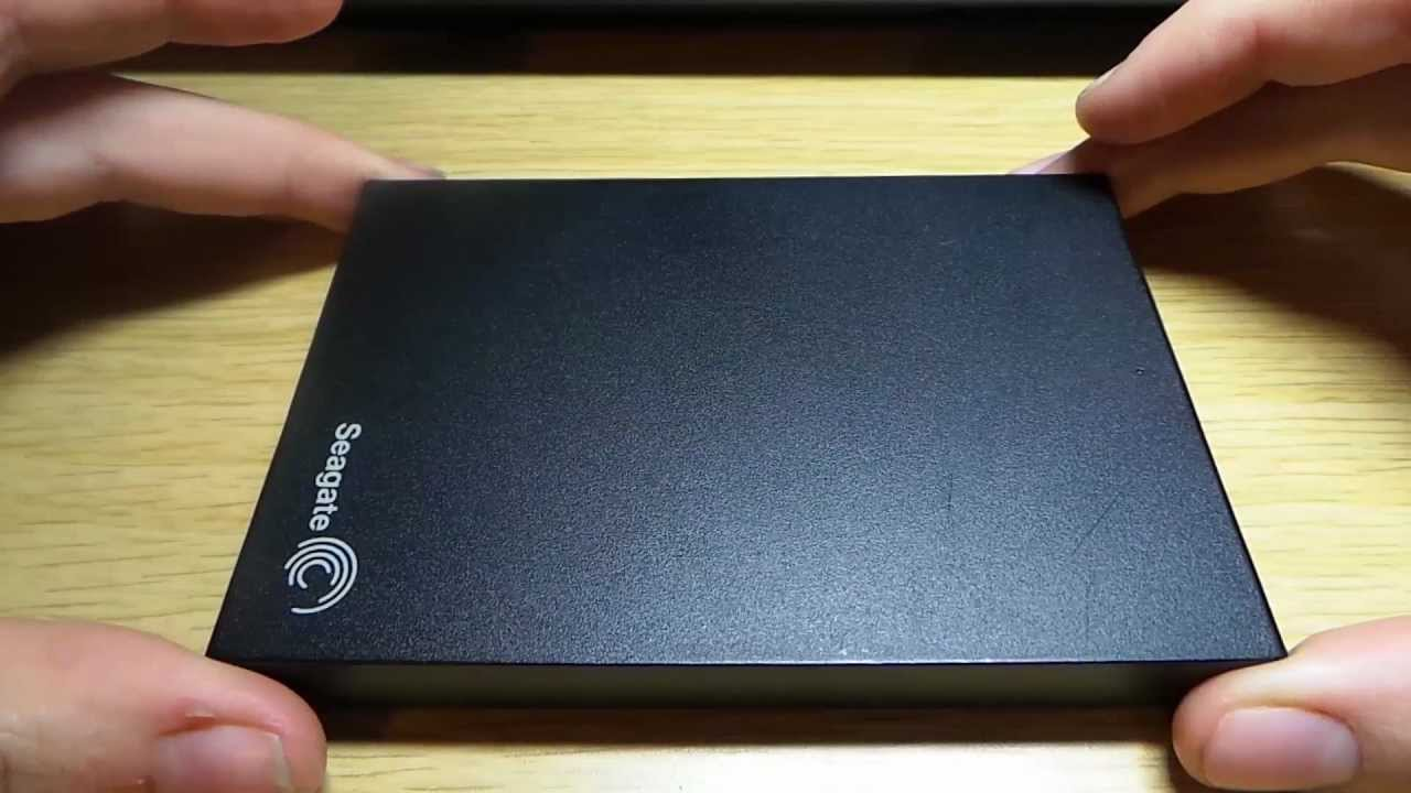 Review of the Seagate Expansion Drive 500GB USB 3.0 - YouTube