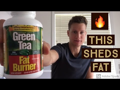 Green Tea Fat Burner by Applied Nutrition Review