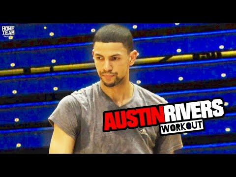Austin Rivers Unseen WORKOUT From 2014 With Iren Rainey & BJ Taylor