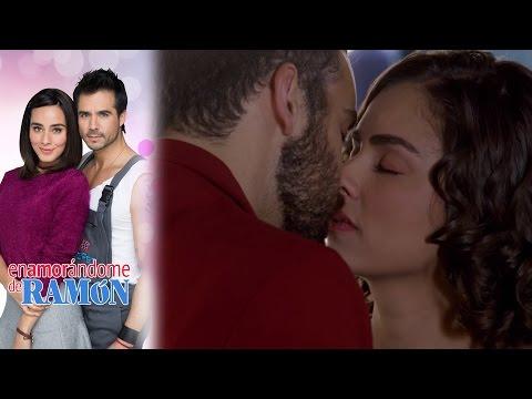¡Andrea y Santiago se hacen novios! | Enamorándome de Ramon - Televisa