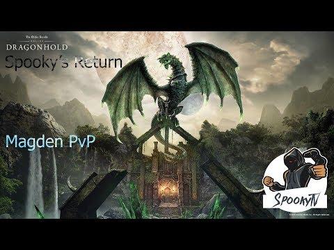 ESO Magden PvP Gameplay Dragonhold #1