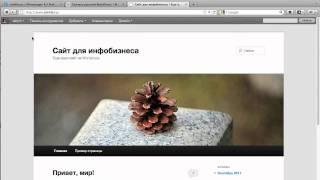 Как создать сайт на wordpress с нуля(, 2011-09-28T08:23:47.000Z)