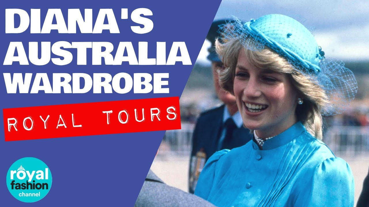royal fashion princess diana s australia tour youtube royal fashion princess diana s australia tour