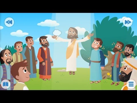 Bible for Kids - Into the Clouds, God's Wonderful Gift, No Silver - No Gold