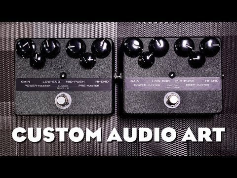 Custom Audio Art - Drive M & High Drive - Review