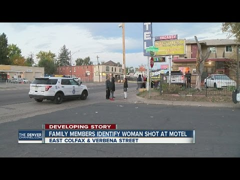 Woman killed in Denver motel shooting