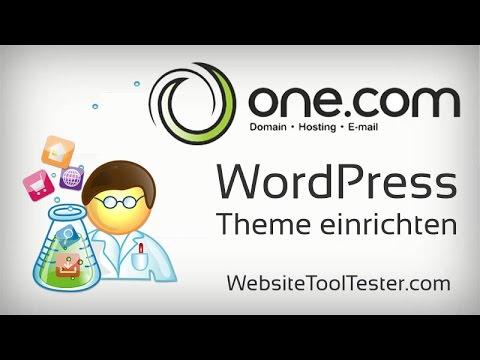 WordPress Theme installieren und anpassen – Tutorial