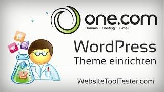 WordPress Theme installieren und anpassen - Tutorial