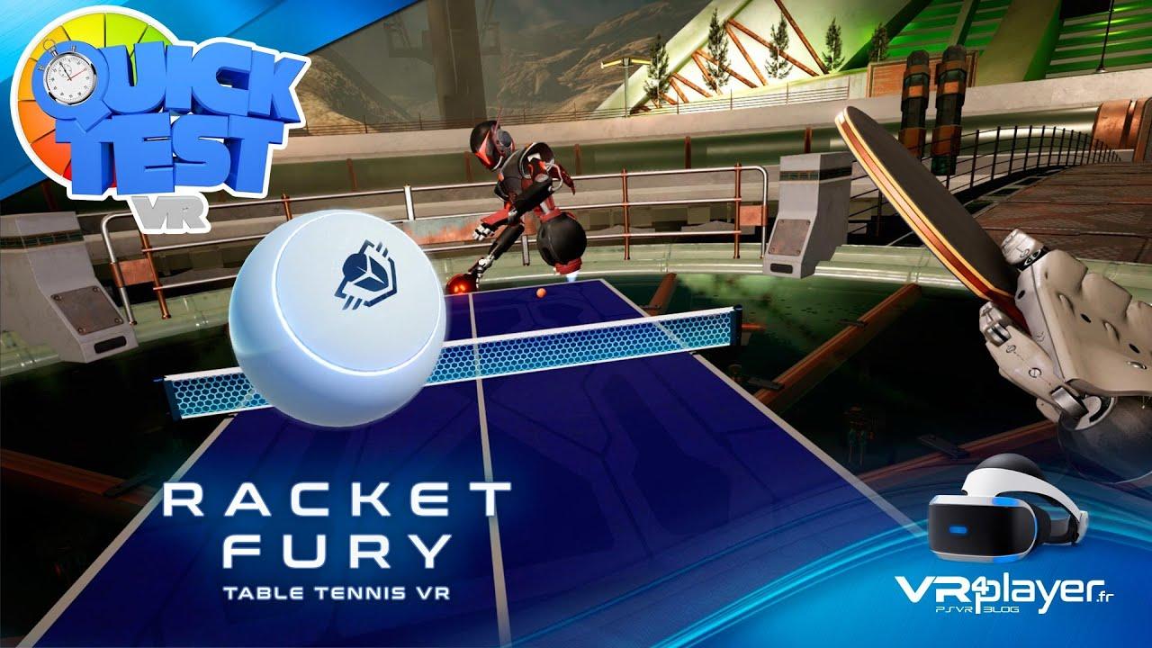 PlayStation VR PSVR : Multi Racket Fury : Ça donne quoi ? Quick Test