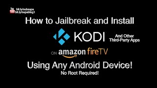 HOW TO JAILBREAK AMAZON FIRESTICK with your ANDROID PHONE or TABLET (No Computer Needed)